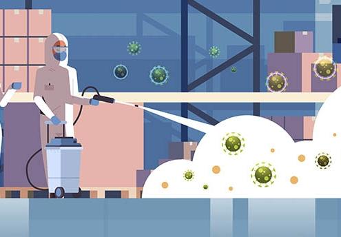 Desinfección por Ozono para luchar contra el Coronavirus